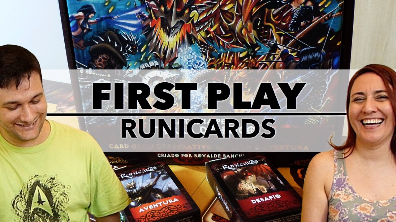 First Play: Runicards (2013)