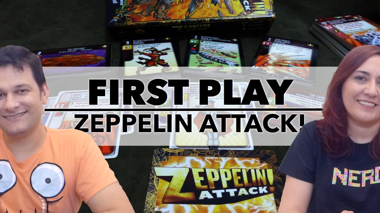 First Play: Zeppelin Attack! (2014)
