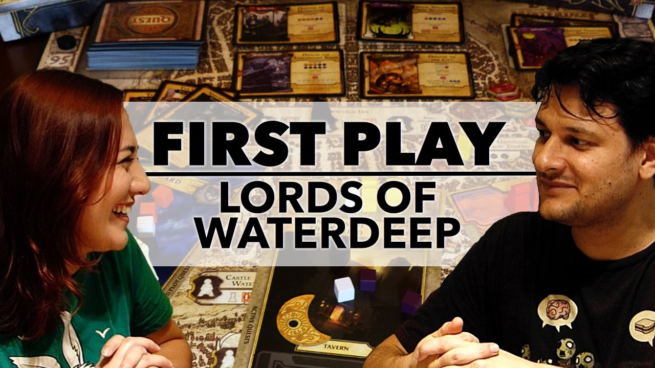 First Play: Lords of Waterdeep (2012)