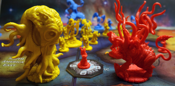 Shub-Niggurath throws down against Hastur