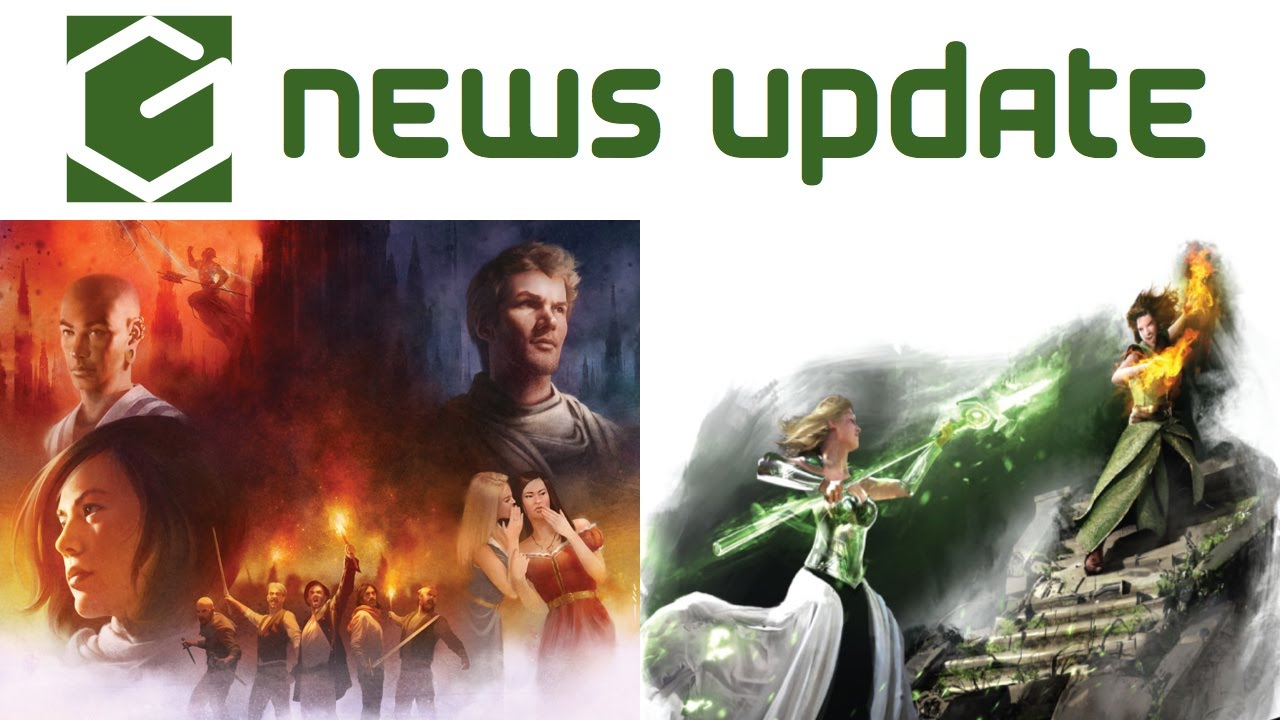 Mistborn: House War funded already, Castle Falkenstein gets supplements! (Gamerati News Updates)